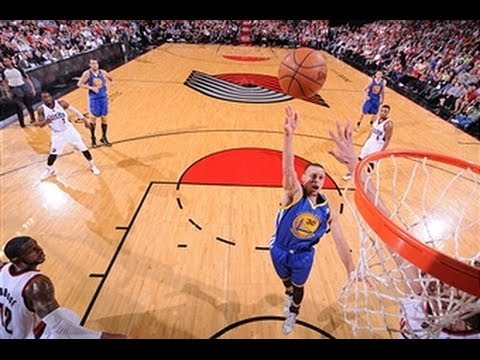 Video: Stephen Curry Drops a Season-High 47 in Portland