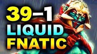 Download Lagu LIQUID vs FNATIC - 39-1 GG!!! - #TI8 THE INTERNATIONAL 2018 DOTA 2 Mp3
