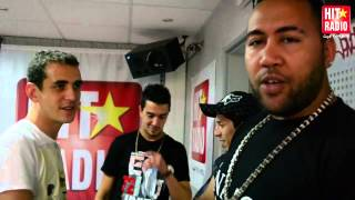 L'ARRIVEE DE CHAHT MAN DANS LE MORNING DE MOMO SUR HIT RADIO