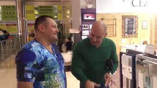 Сергей Листопад и Андрей Черкасов ! Летающий унитаз !!!