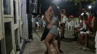 A couple dancing in Recife, Brazil. It's a mix of Cumbia and Forro, but in reality reminds me of Lambada :) (If you don't don't any of ...