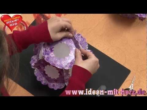 Ideen mit Herz - Deko-Ideen - Lichteffekt-Blütenkugel