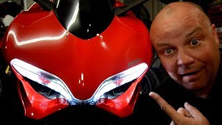 8. Best cheap mod for your Panigale 899/959 - How to upgrade your headlights to a brighter whiter light