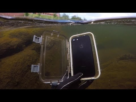 Found Lost iPhone 7 in River While Scuba Diving! (w/ Girlfriend) | DALLMYD_Diving. Best of all time