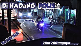 Video Di HADANG POLIS* !!! PEMOTOR KETAKUTAN    Trip SUGENG RAHAYU ANTI MACET. MP3, 3GP, MP4, WEBM, AVI, FLV Agustus 2018