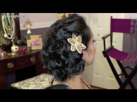 Pin peinados modernos tutorial de cabello elegante peinado - Tutorial de peinados ...