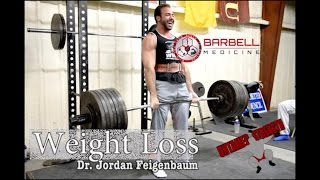 Follow Jordan on IG @jordan_barbellmedicineFind Jordan HERE: http://www.barbellmedicine.comIn this video I interview Jordan Feigenbaum (Dr., Starting Strength Coach, Powerlifter). He discusses whether or not it's possible to lose weight and increase strength, how he helps obese clients, dietary suggestions, strength training and cardio, and a couple questions submitted on IG. Follow Jordan on IG @jordan_barbellmedicineFind Jordan HERE: http://www.barbellmedicine.com