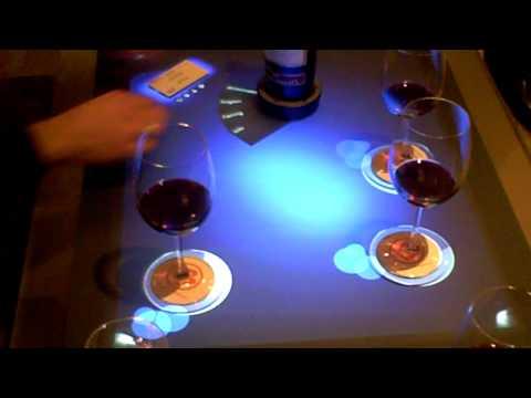 Microsoft Surface  wine-tasting demo