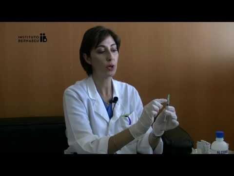 Instrucciones HMG-LEPORI ®: preparación de la medicación. Instituto Bernabeu