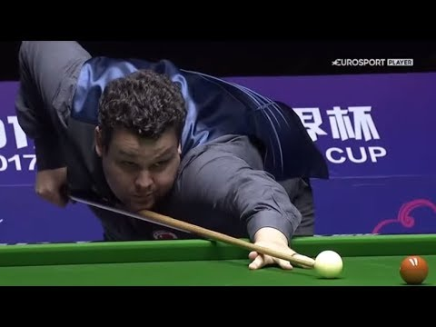 Igor Figueiredo/Itaro Santos vs Kurt Maflin/Christopher Watts - Copa do Mundo de Snooker 2017