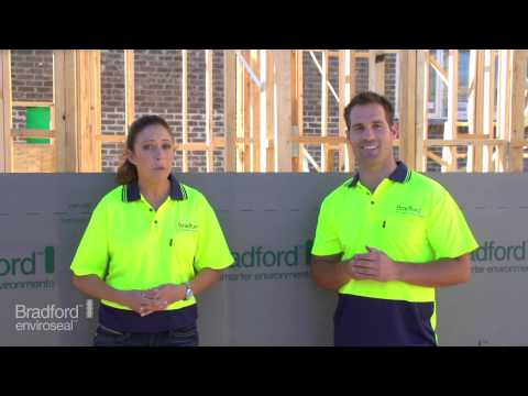 How installing Bradford Enviroseal™ ProctorWrap™ can benefit your new home