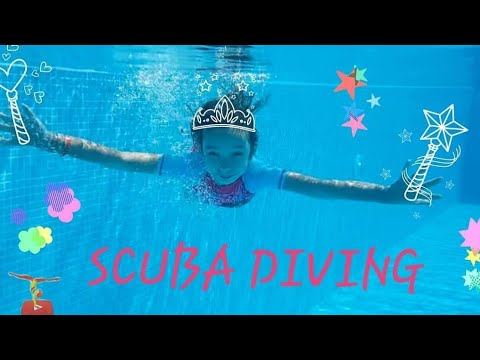 SCUBA DIVING & JUMPS In Water | Mara STEFANIA DIVES Into The Pool