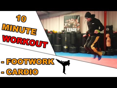 💪10 Minute Cardio Workout for Footwork and Fitness Gains