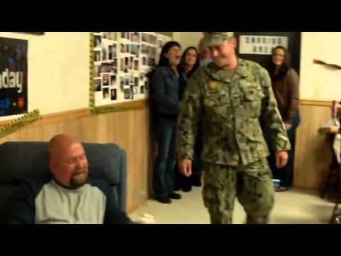 Dad Wipes Away Tears When He Sees His Soldier Son On TV, But There's One More Surprise!