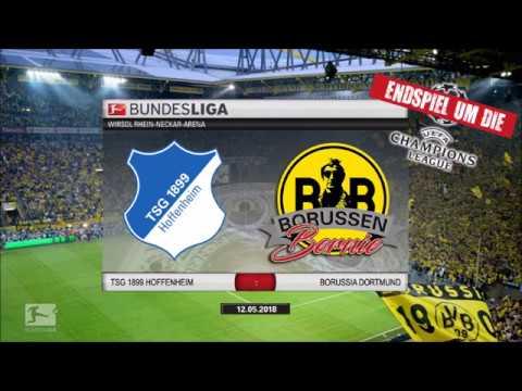 Hoffenheim gegen BVB Bundesliga 17/18 | Borussen Bernie