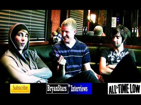 bryanstars - Check out the full uncut version of my interview with All Time Low members Alex Gaskarth and Jack Barakat on the Bamboozle Road Show 2010 Watch my second int...