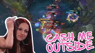 CASH ME OUTSIDE HOW BOW DAH - EPIC TURNAROUNDS AND 1v5 PENTAKILLS