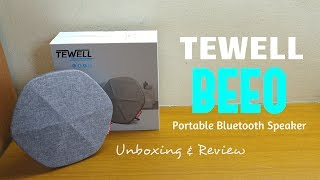 Tewell BEEO is a portable bluetooth speaker catered for all ages, it's comfortable grip and slim sized body allows it to be carried around easily. It has a large battery for long hours of music playback plus powerful bass drivers to echo out your beats!Check it out here: http://amzn.to/2vxk8i3Apply the coupon code: 32WD-MNZ8QM-N7AYSH (50% OFF) * Coupon is for single use only© SAMUEL LEWIS