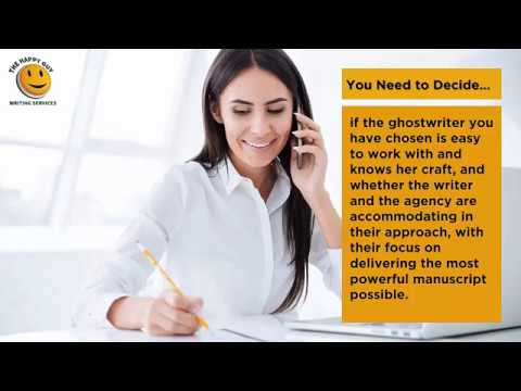 Watch 'Ghostwriter contracts 101: most important things to include in a ghostwriter agreement'