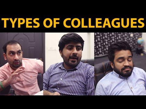 Types of Colleagues | DablewTee | WT | Unique Microfilms