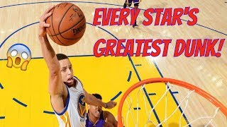 Video Every NBA Star's Greatest Dunk! MP3, 3GP, MP4, WEBM, AVI, FLV November 2018