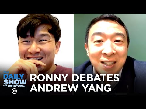 Ronny Chieng & Andrew Yang's Alternative Asian Debate | The Daily Show