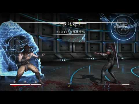 P.V.G.F. MKXL Online casual match between MKRayden (Kunglao) VS. Frankenstein107 (Kenshi)