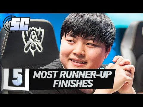 5 Most Runner Up Finishes | LoL Esports