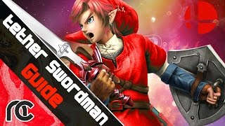 Smash 4 Wii U: Tether Swordman Guide for link