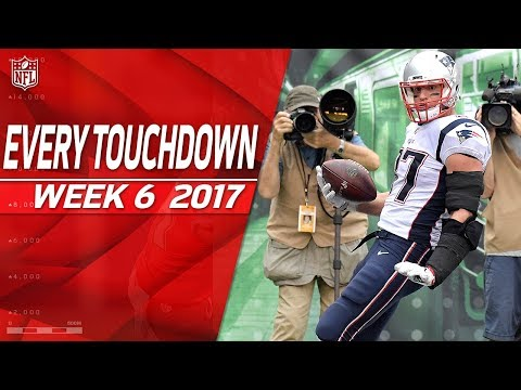 Every Touchdown from Week 6 | 2017 NFL Highlights (видео)