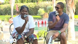 """Pusha T drops by the Fuse VEVO house at Coachella to talk about his new song """"Numbers on the Boards"""" and his Coachella experience."""