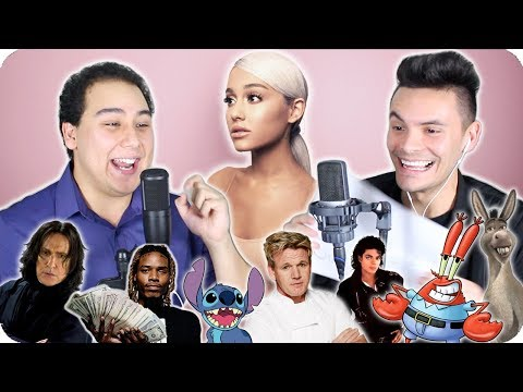 """Ariana Grande - """"Thank U, Next"""" Impersonation Cover (LIVE ONE-TAKE!)"""