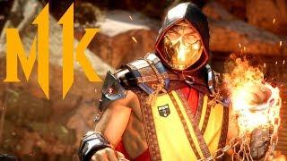 Mortal Kombat 11 Gameplay - Fatalities, Fatal Blows & Character Customisation