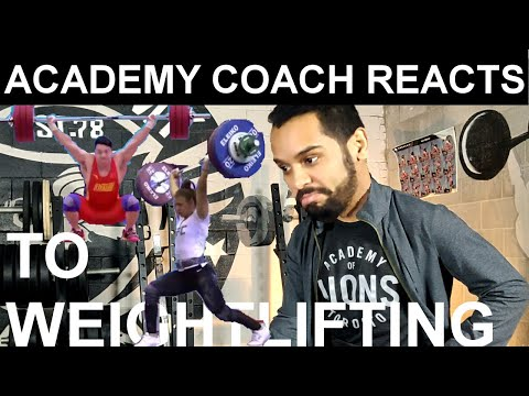 Coach Reacts To Weightlifting   Episode 1   AOLTV