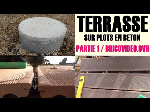 Search result youtube video pose terrasse en bois for Realiser une terrasse en beton