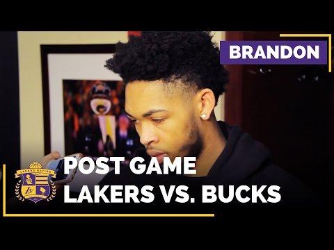 Video: Brandon Ingram Talks Bucks' Scuffle, Massive Dunk Over Giannis & Brogdon