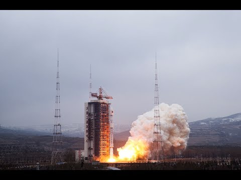 Long March-4B Hard X-ray Modulation Telescope Launch
