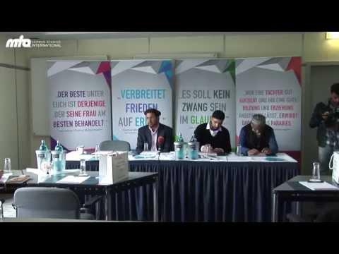 MTA Journal - Charity in Frankfurt Main & Wiesbaden - Islamausstellung Aachen - Plakataktion Siegen