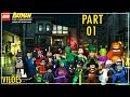 Lego Batman The Video Game vil es The Riddler E Clayfac