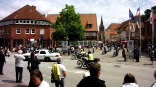 Harleys are leaving Plön 2013