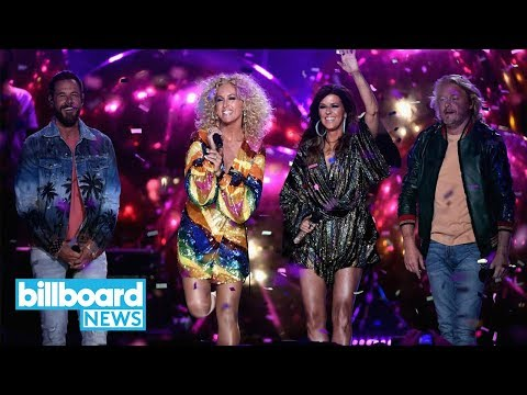 Video Little Big Town Open the 2018 CMT Music Awards With 'Summer Fever' Performance | Billboard News download in MP3, 3GP, MP4, WEBM, AVI, FLV January 2017