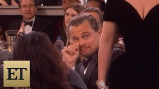 Video Leonardo DiCaprio's Reaction to Lady Gaga's Golden Globes Win is Absolutely Priceless MP3, 3GP, MP4, WEBM, AVI, FLV Januari 2018