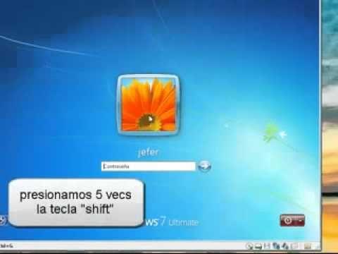 quitar - cambiar contraseña en windows 7 -