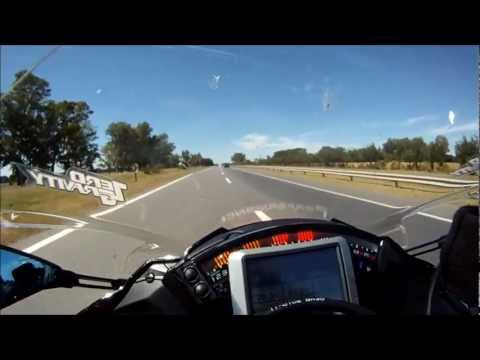 2012 ZX10R Top Speed Run 336km  Click HD Quality To See Better