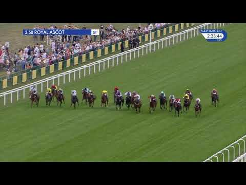 Signora Cabello Winning the G2 Queen Mary Stakes