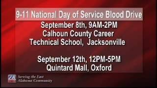 9-11 National Day of Service Blood Drive