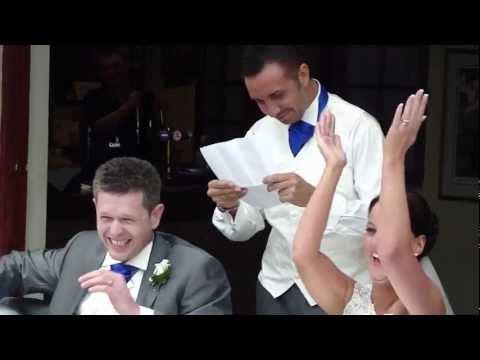 Keiran Lee - Best Man Speech at one of his best friends Wedding (видео)