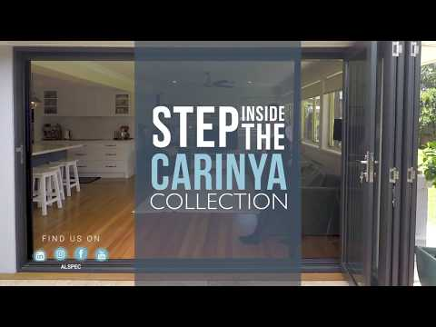 Carinya Select Bi-Fold Doors - Screening Options