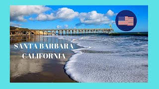 Santa Barbara (CA) United States  City new picture : Beautiful Santa Barbara's beach, California (USA)