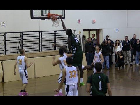 World's Tallest High School Basketball Player